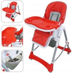 Chaise Haute Rouge pour...