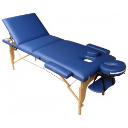 Table de massage M2B bleue...