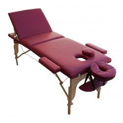 Table de massage M2X cerise...