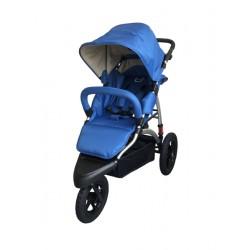 Poussette bébé T76B bleue