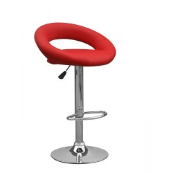 Tabouret de Bar LUN Rouge...