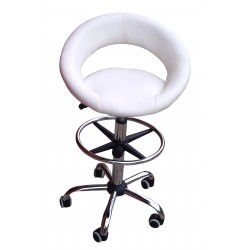 Tabouret A42W Blanc Chaise...